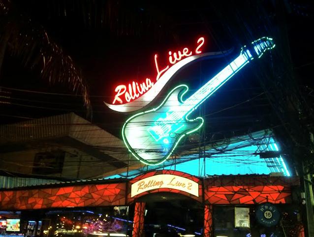 Рок-бар на Walking Street в Паттайе