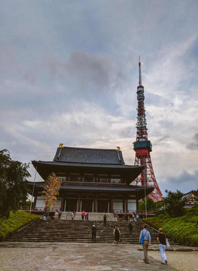 Токио, храм Zojoji